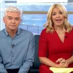 Messenger Newspapers: Holly Willoughby apologises after Joey Essex swears on This Morning