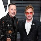 Messenger Newspapers: David Furnish calls husband Sir Elton the 'greatest gift' on singer's 70th