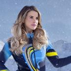 Messenger Newspapers: Vogue Williams still on the mend following knee injury received on The Jump