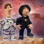 Messenger Newspapers: Professor Brian Cox makes space for role in Postman Pat