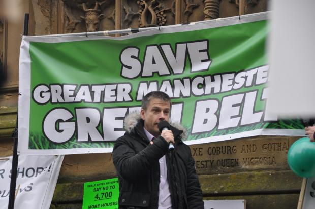 Messenger Newspapers: Borough protests culminate in 1,500-strong rally against green belt development