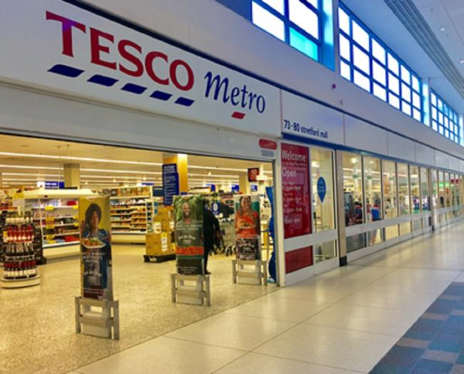 Tesco's Stretford Mall store. Photo: Darren Marsden