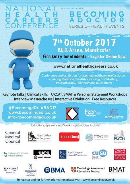 Trafford holds UK's largest conference for students considering a career in Healthcare