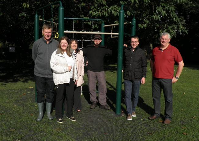 Broadheath Ward Councillors Stephen Anstee and Denise Western with members of FONP