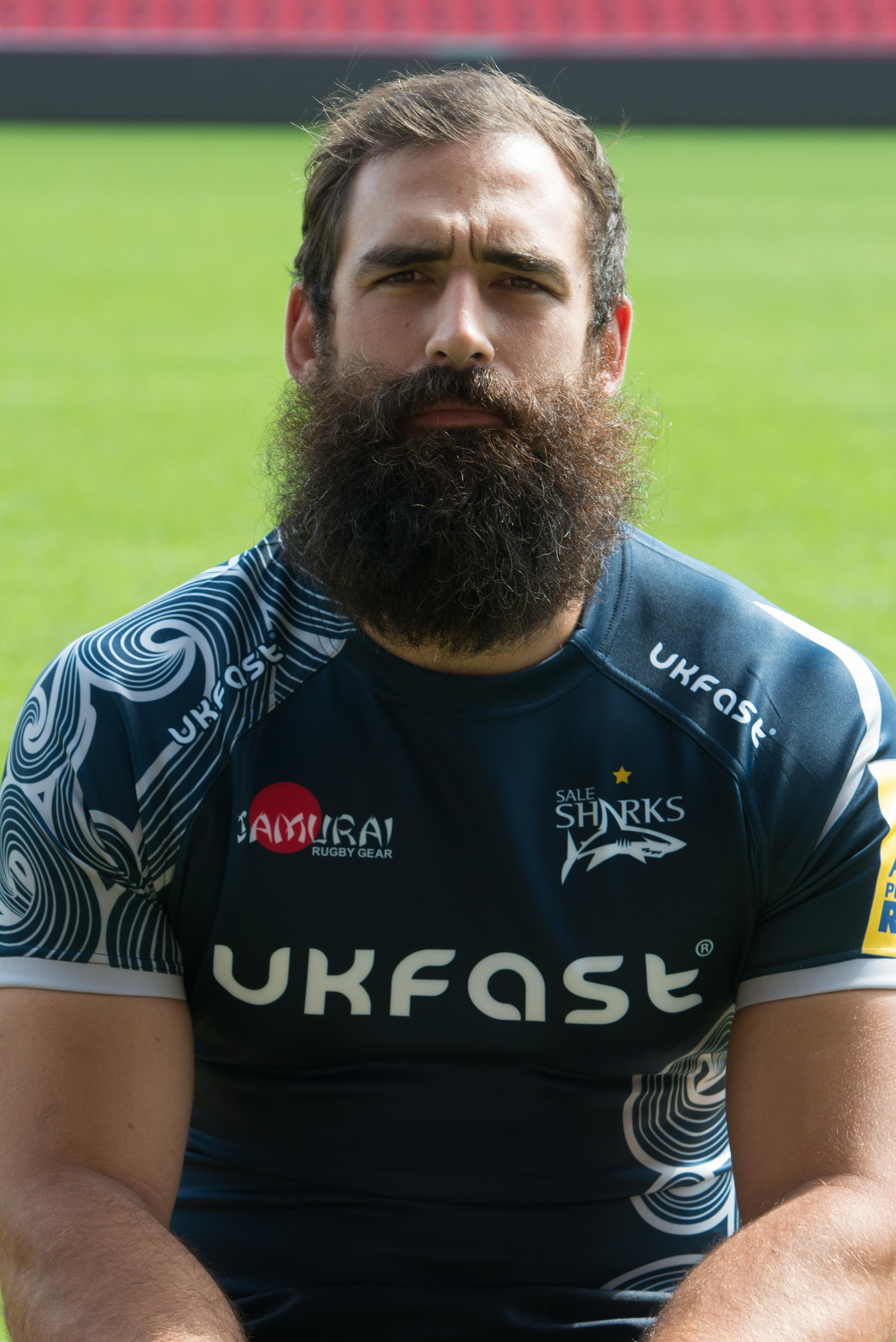 Sale Sharks' Josh Strauss