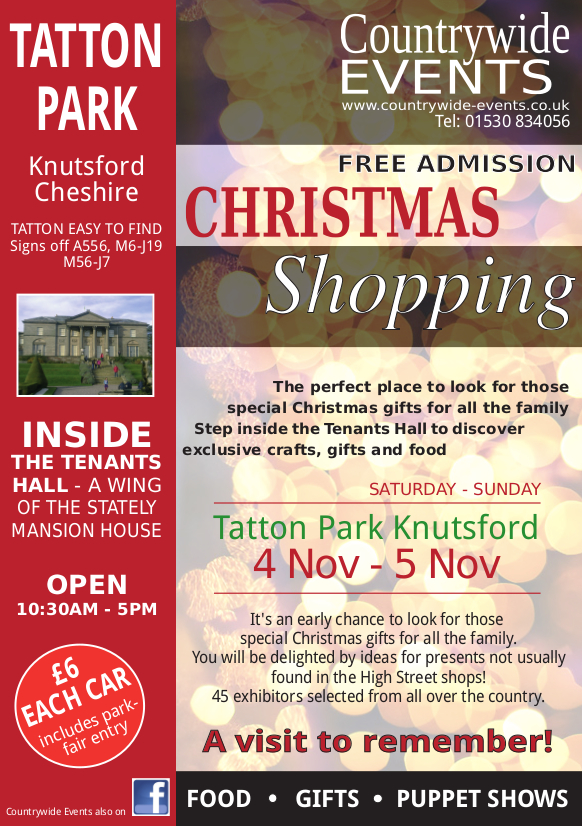 Christmas Gifts Fair, Tatton Park
