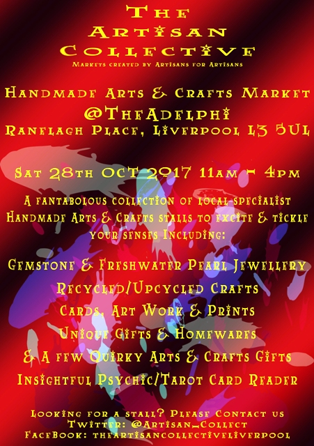 The Artisan Collective - October Handmade Crafts & Arts Market