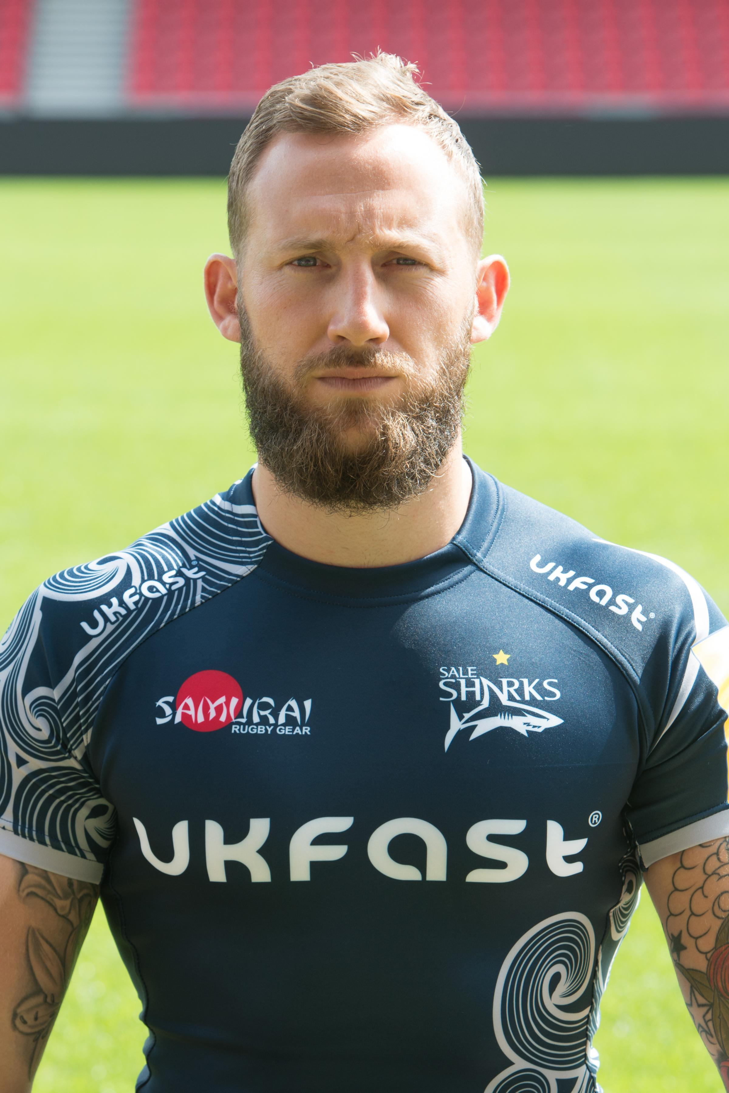 Sale Sharks' Byron McGuigan
