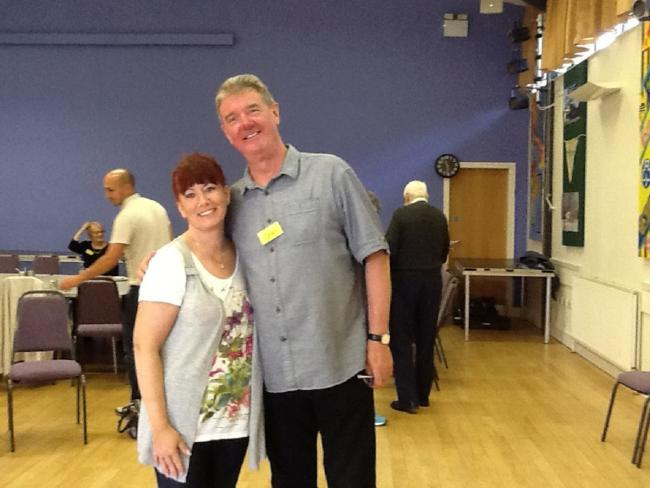 Larkhill Dementia Cafe ((Kyra French and Tony Berry)