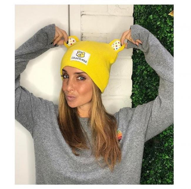Louise Redknapp has #PutAHatOn to support Children in Need