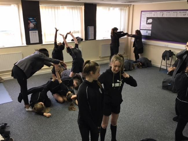 Flixton pupils stay in shape