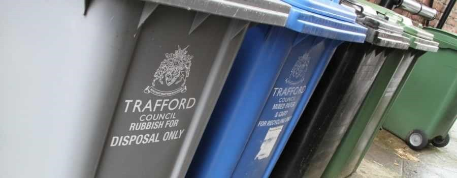 Trafford Council Bins