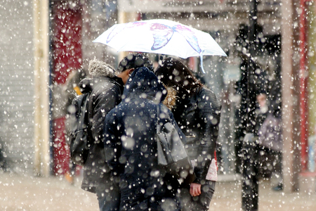 WARNING: The Met Office has issued further warnings as Storm Emma moves in from the west