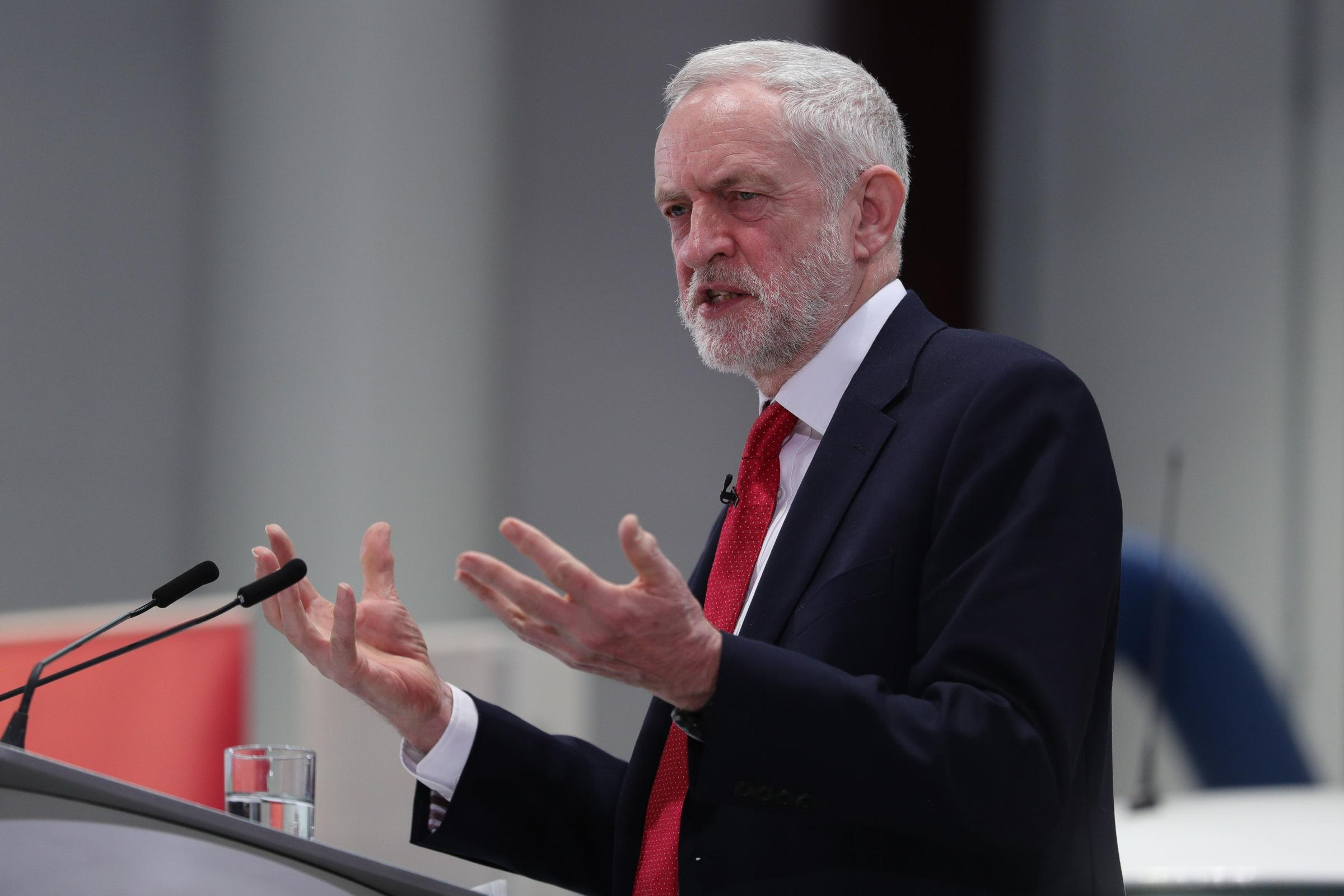 Jeremy Corbyn sent his 'solidarity' to Bectu members (Aaron Chown/PA)