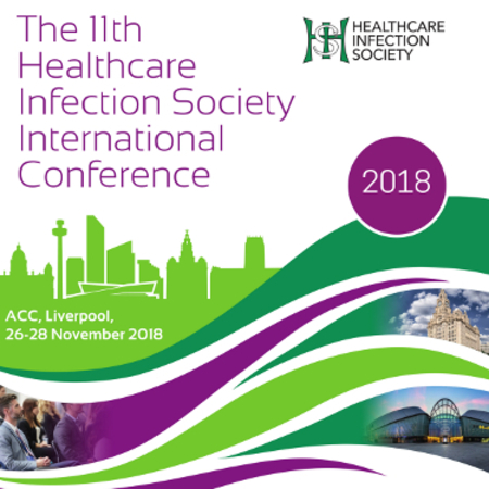 The Healthcare Infection Society International Conference 2018, Liverpool