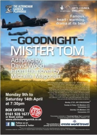 Goodnight Mister Tom at the Garrick