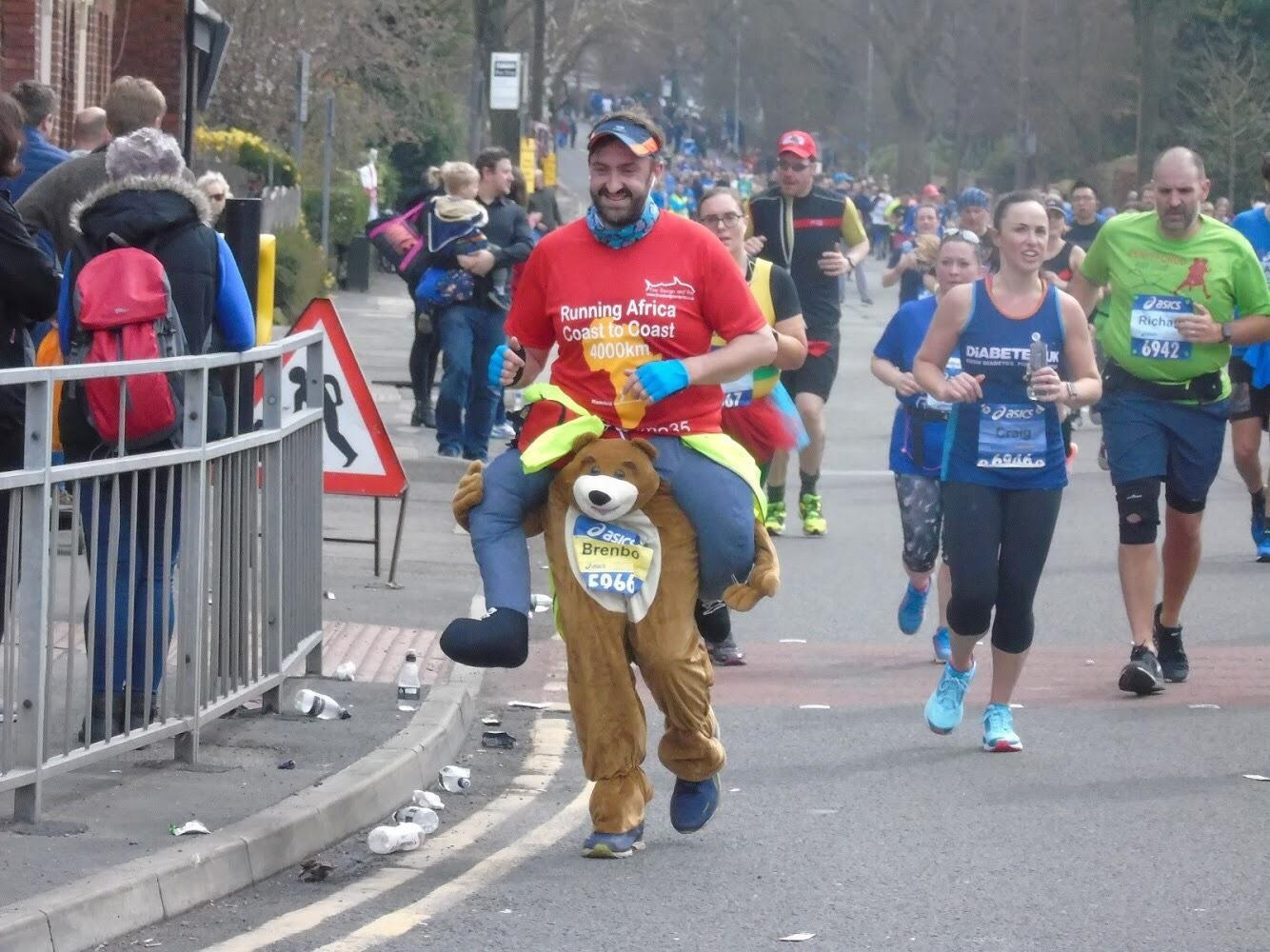 Runners take part to help good causes. Picture: Darren Marsden