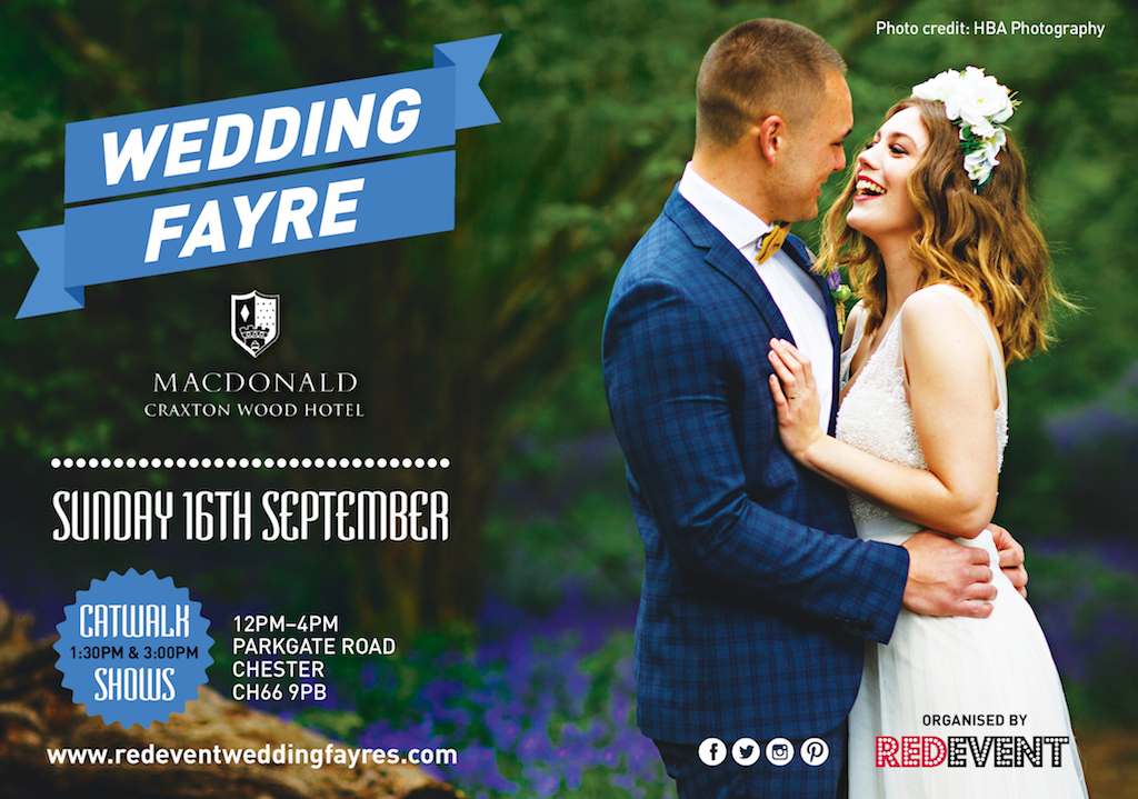 Wedding Fayre at Macdonald Craxton Wood Hotel & Spa, Chester