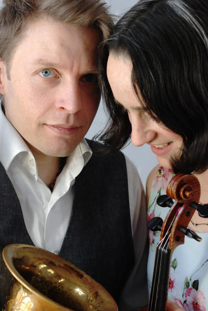 Daniel and Emma Reid - Sax and Fiddle- Workshop, Concert and Bal.