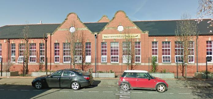 Gorse Hill Primary School has filed plans to extend class rooms and build a new play area. Pic-Google Street Maps