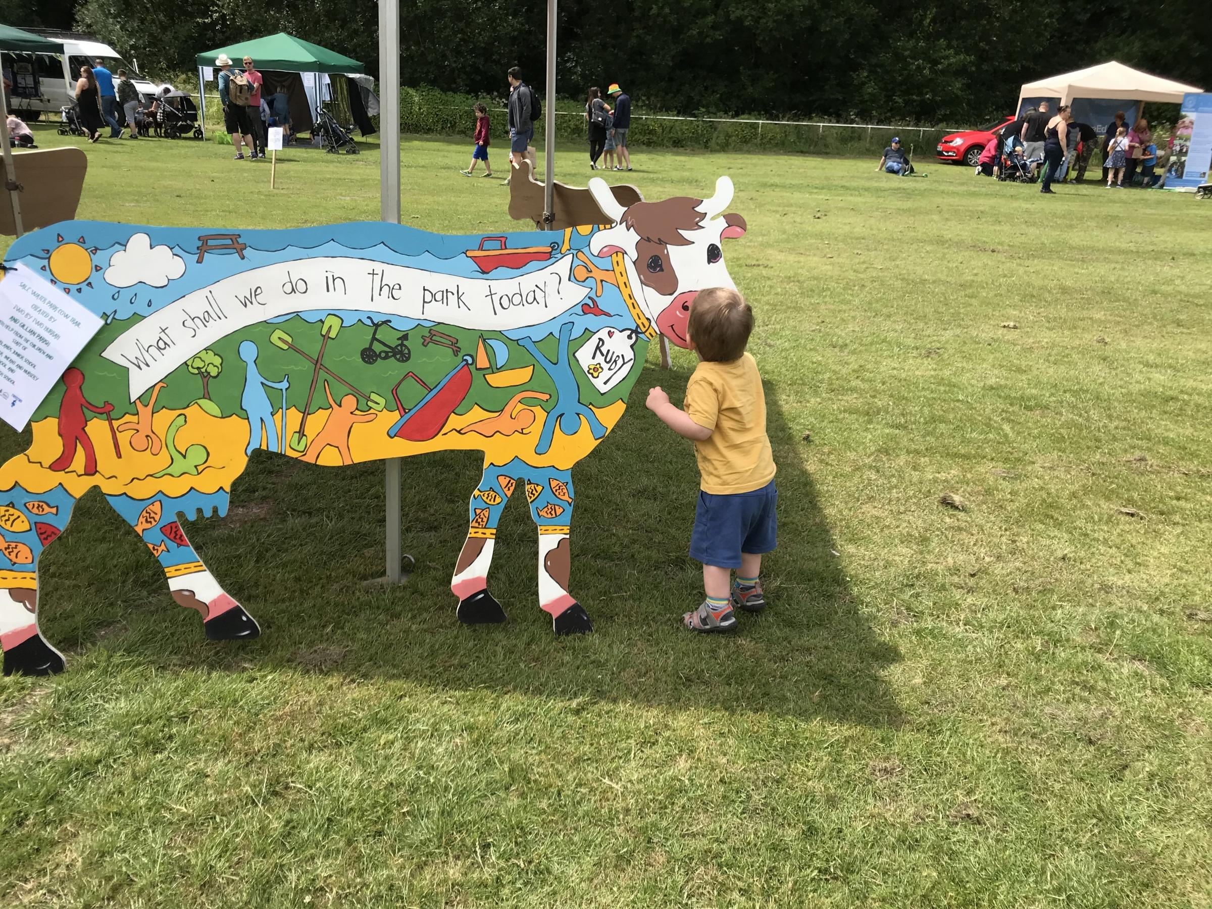 'Crafty' cows created by local schools are going on tour across Trafford this summer.
