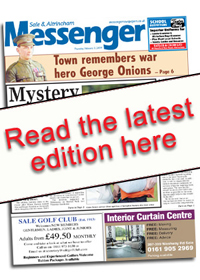 Messenger Newspapers: Sale and Altrincham E Edition Cover