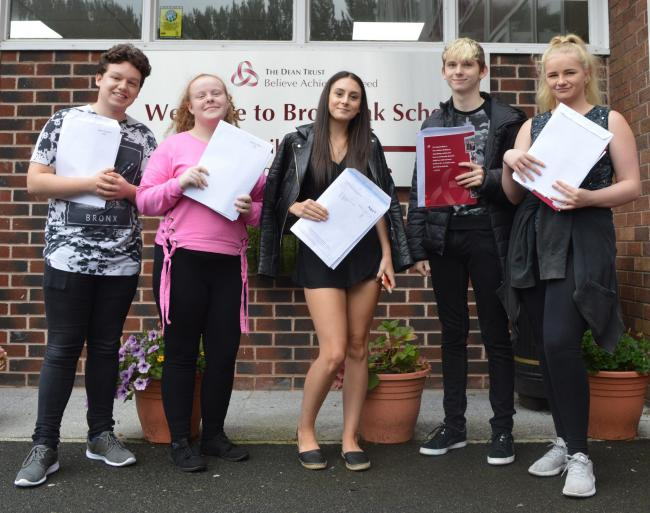 Broadoak School was delighted with the unprecedented success in this year's GCSE examination results.
