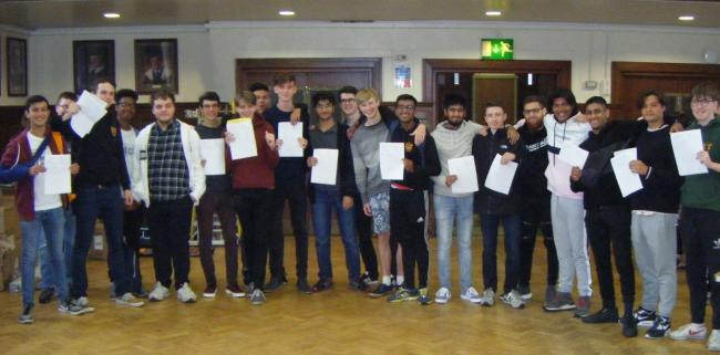 A total of 17 students from Altrincham Grammar School for Boys have secured places at Oxford or Cambridge Universities.