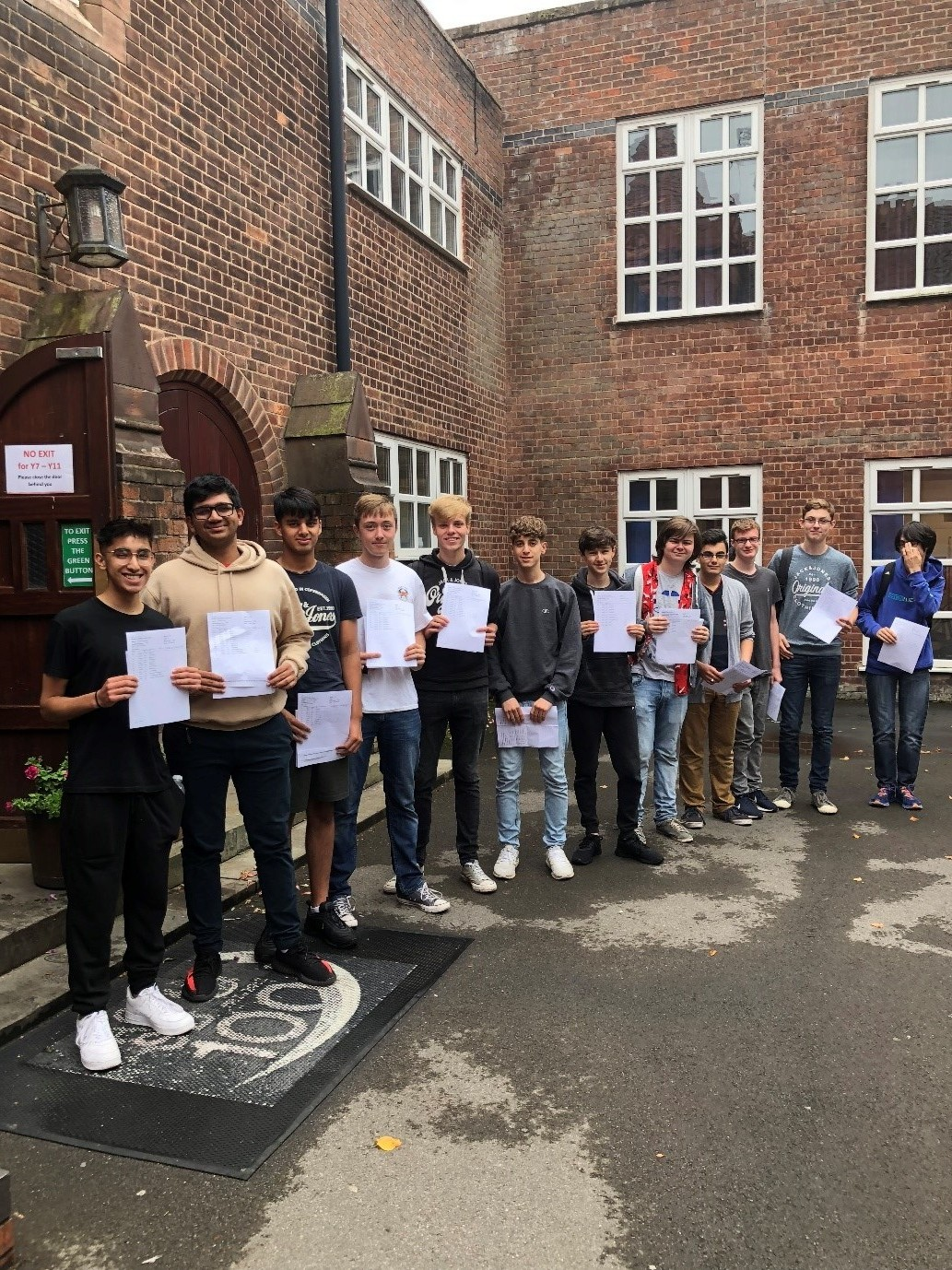 Students at Altrincham Grammar School for Boys are celebrating outstanding GCSE results this year.
