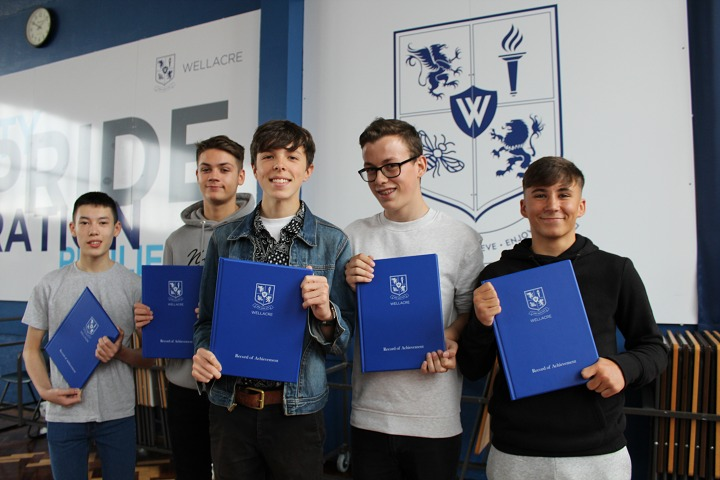 Wellacre Academy achieved another fantastic set of results as the boys continued to excel despite the rigours of the new GCSE specifications.