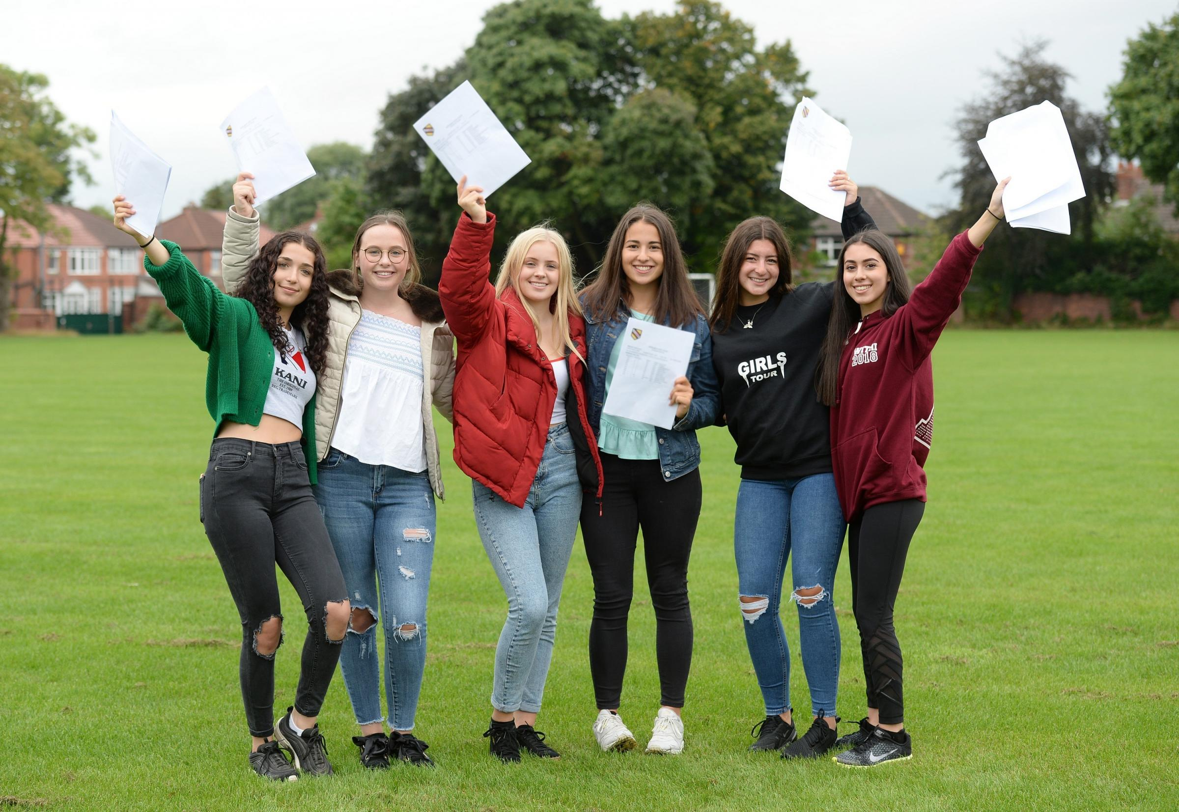 Pupils from the Trafford have made an outstanding contribution to Withington Girls' School's raft of excellent GCSE results this year.