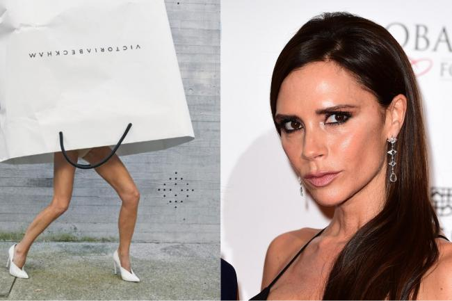 27a06dcecd Victoria Beckham sparks carrier bag-wearing trend on social media ...