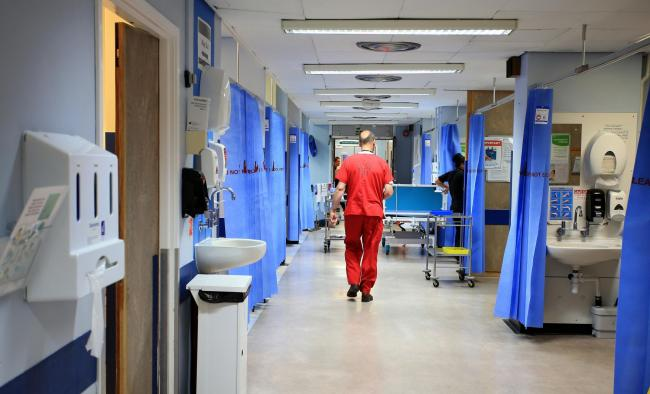 File photo dated 03/10/14 of a hospital ward. Delayed discharges from hospital are costing the NHS £455 million a year, Labour has warned. PRESS ASSOCIATION Photo. Issue date: Tuesday December 27, 2016. Shadow health secretary Jonathan Ashwor