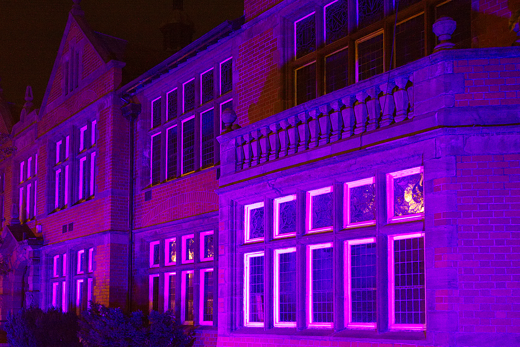 Altrincham Town Hall will be lit up in purple for Rotary World Polio Day on Wednesday, October 24.