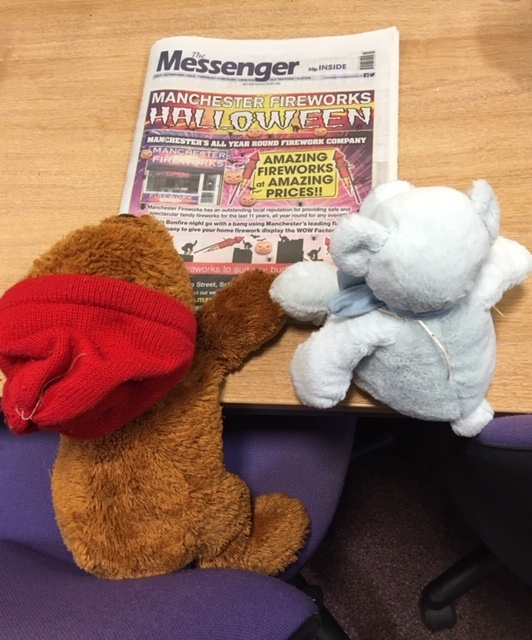 Trafford children say goodnight to their teddy bears as the fluffy friends spent the night adventuing around Trafford's libraries.