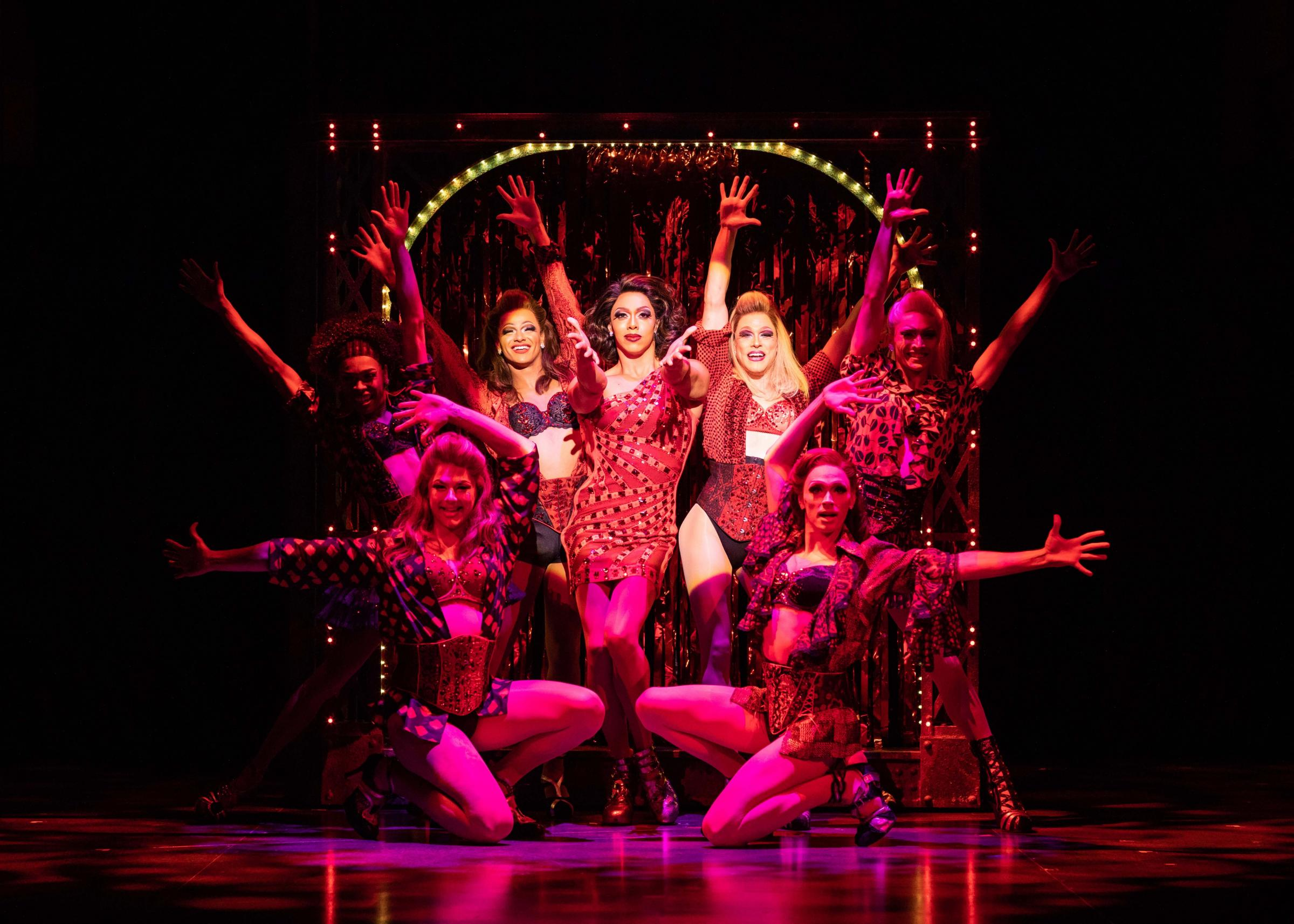 Kinky Boots. Picture: Helen Maybanks