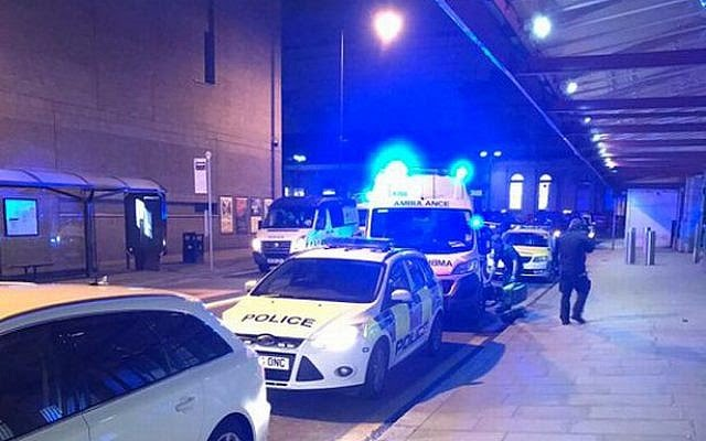 Critical incident declared after train station stabbing horror