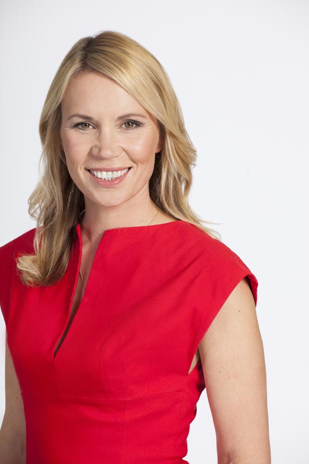BBC weather presenter Dianne Oxberry who has died aged 51 following a short illness. Picture: BBC/PA Wire