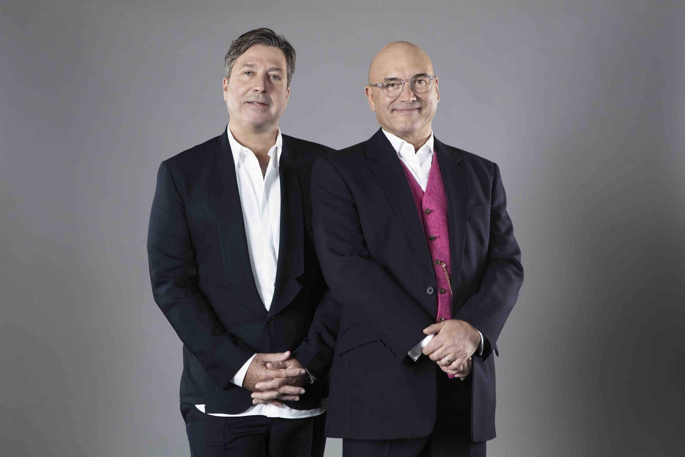 MasterChef judges John Torode (left) and Gregg Wallace