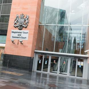 The three men will appear at Manchester and Salford Magistrates' Court on November 8.