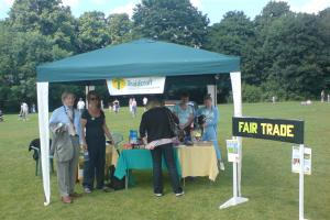 Fairtrade at Sale Festival 2009