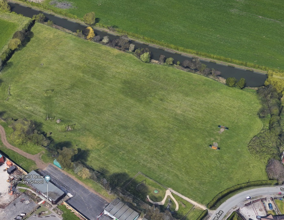 Cow Field, near Oldfield Brow. Picture: Google Maps