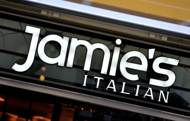 Jamie's Italian, the restaurant chain founded and majority-owned by celebrity chef Jamie Oliver, has appointed administrators, putting as many as 1,300 jobs at risk. Picture: Nick Ansell/PA Wire