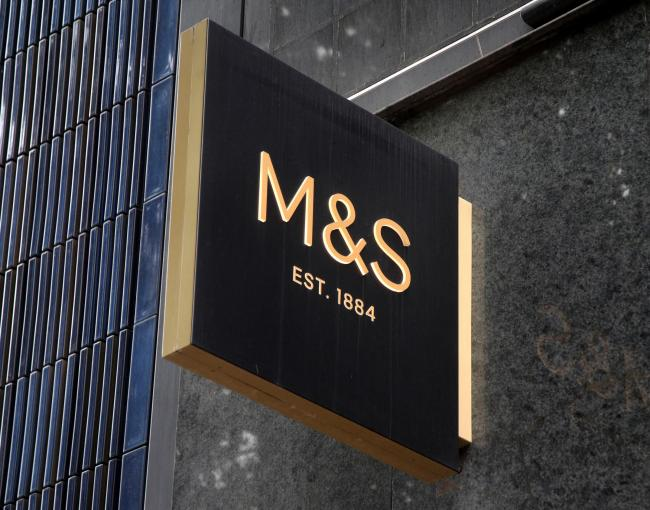 Marks & Spencer. Picture: Yui Mok/PA Wire