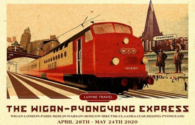 You can now get a train from Wigan to North Korea. Pic credit: Lupine Travel
