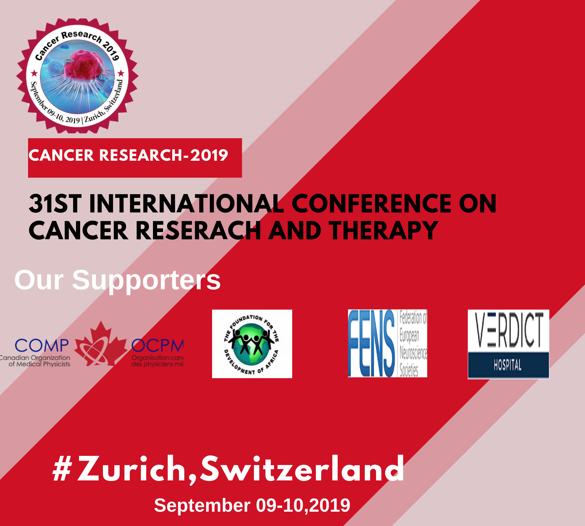 31st International Conference on Cancer Research Therapy