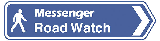 Messenger road watch graphic